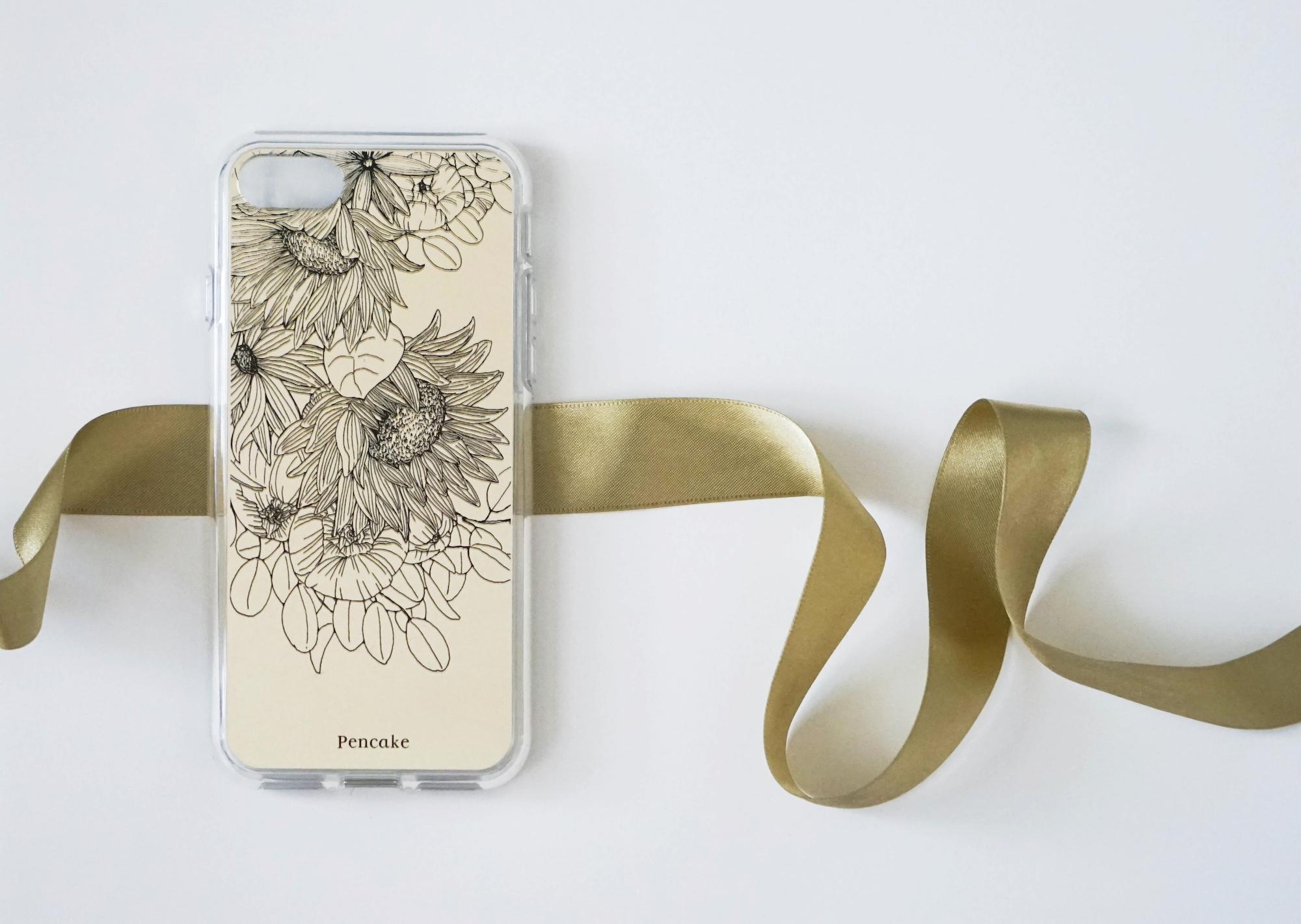 iphone, ひまわり