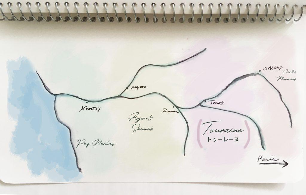 map, loire