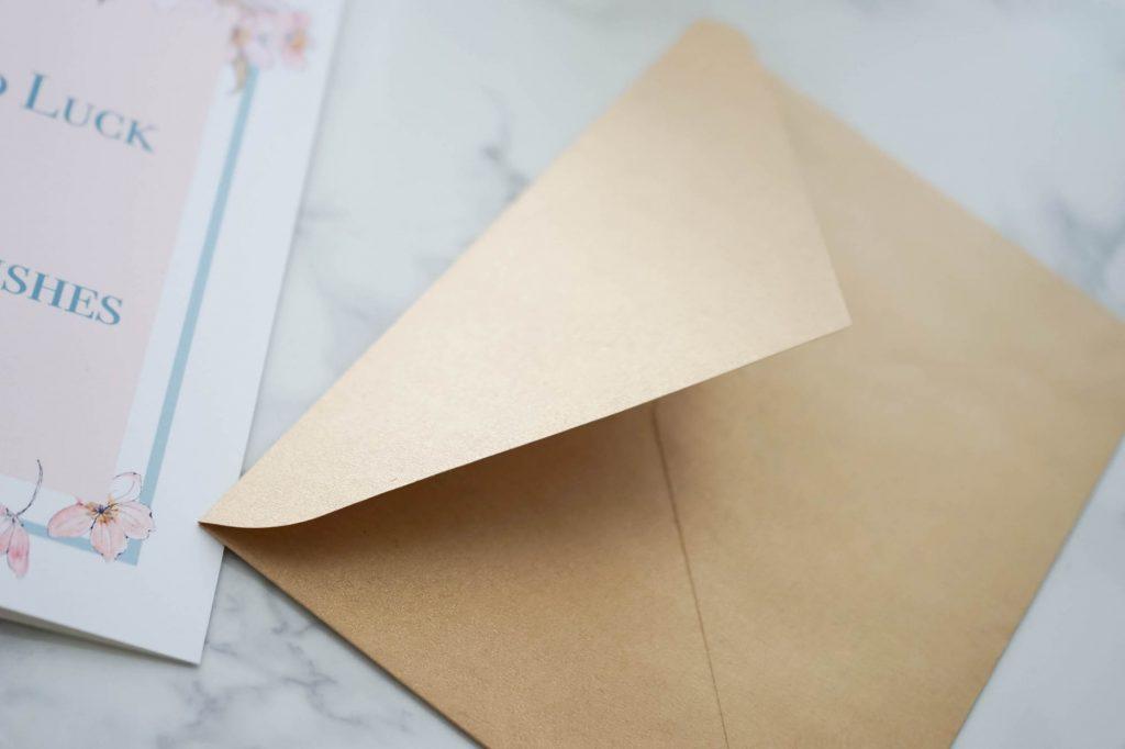 グリーティングカード封筒